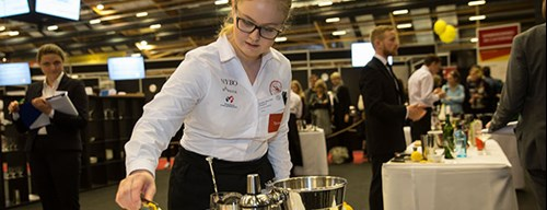 Josefine til DM i Skills 2017 for tjenere